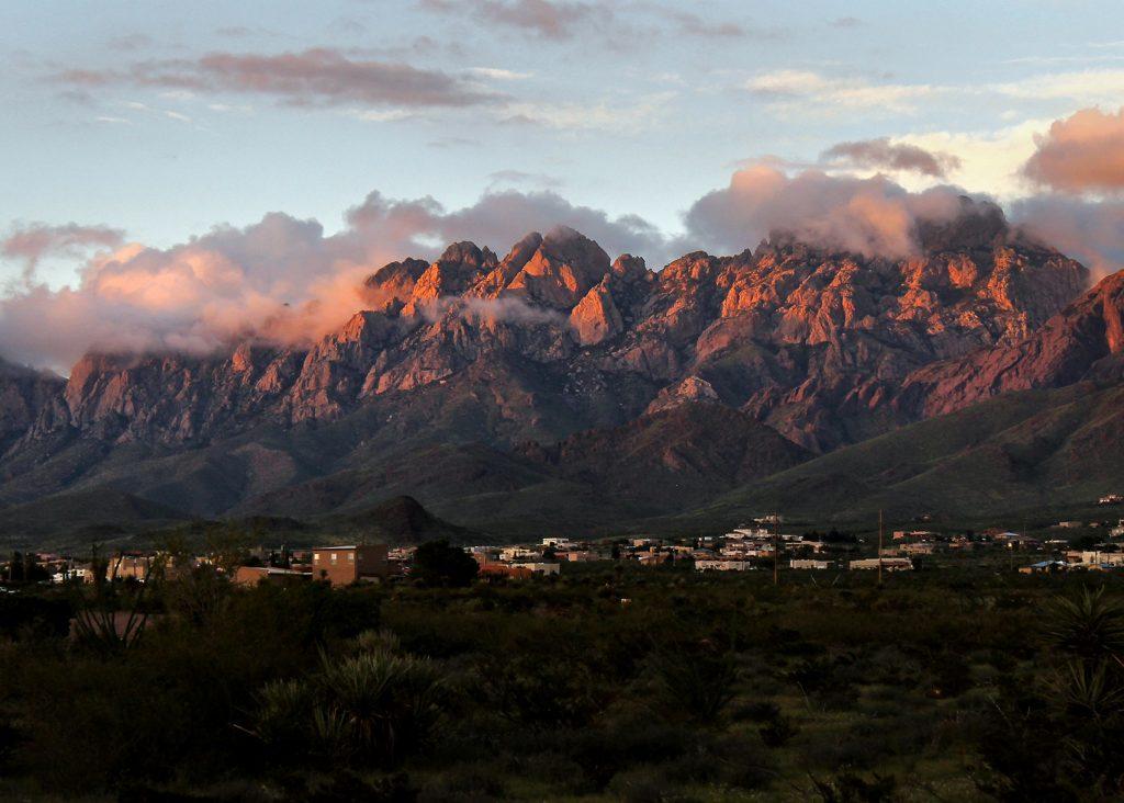Soledad Canyon Organ Mountains Sunset