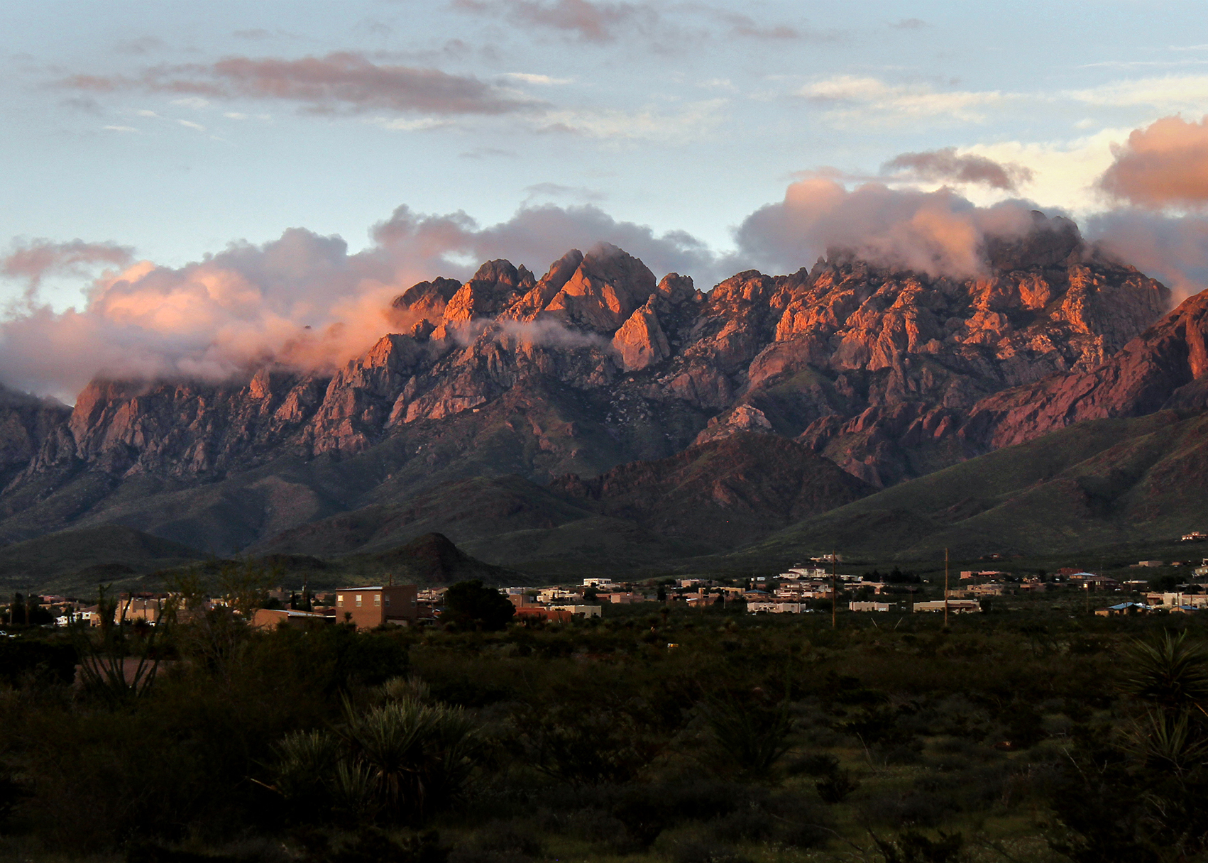 Soledad Canyon Organ Mountains Sunset