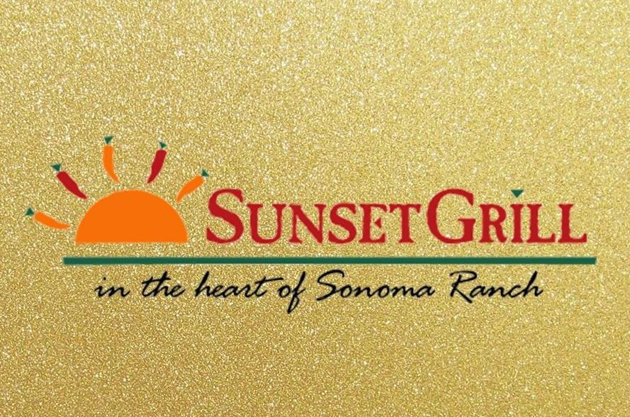 Sunset Grill logo in Sonoma Ranch Golf Course