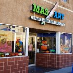 Mas Art Storefront, October