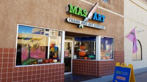 Mas Art Storefront, October